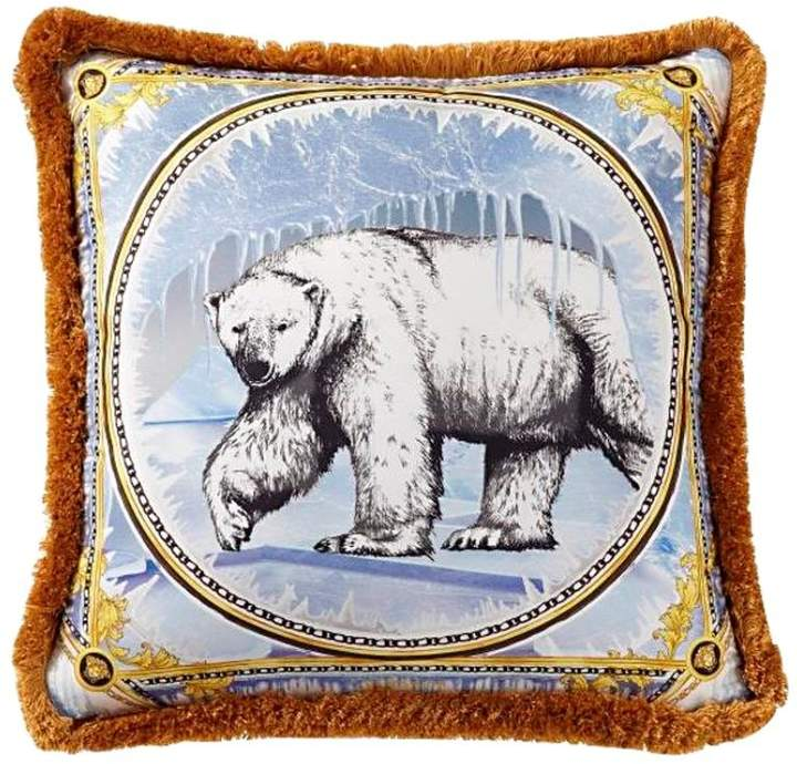Ben Polar Bear Printed Accent Pillow
