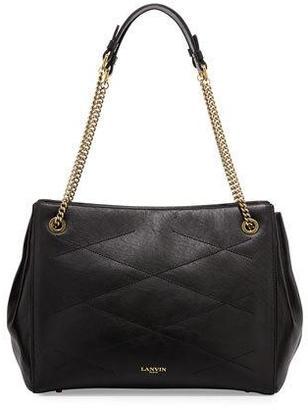Lanvin Sugar Medium Tote Bag, Black $2,490 thestylecure.com