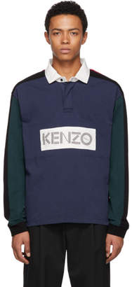 Kenzo Multicolor Rugby Polo