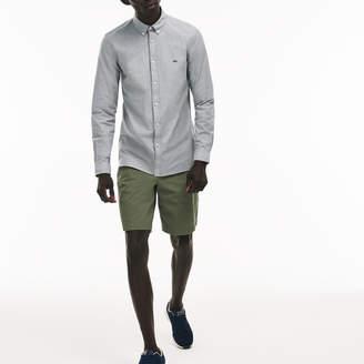 Lacoste Men's Slim Fit Stretch Cotton Oxford Shirt