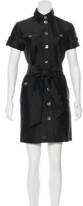 Armani Collezioni Short Sleeve Mini Dress