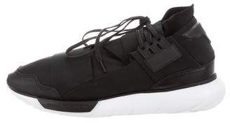 Y-3 Neoprene Lace-Up Sneakers