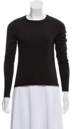 Akris Cashmere Lightweight Sweater Black Cashmere Lightweight Sweater