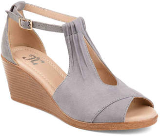 Journee Collection Kedzie Wedge Sandal - Women's