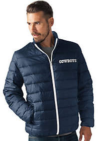 NFL Dallas Full Zip Quilted Packable PolyfillJacket