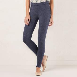 Lauren Conrad Women's Pull-On Skinny Dress Leggings