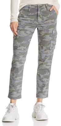 Hudson Printed Cargo Jeans in Surplus Camo