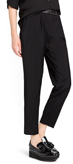 MANGO Outlet Wool Suit Trousers