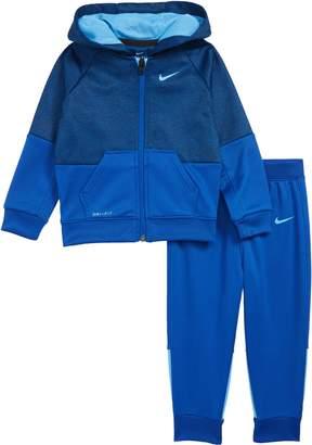 Nike Speckle Dry Zip Hoodie & Pants Set
