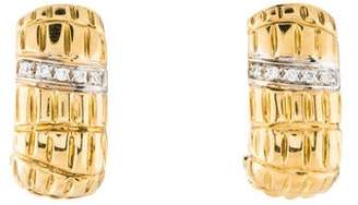 Roberto Coin 18K Diamond Earclips