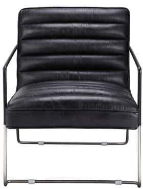 MOE's home collection Desmond Club Chair Black