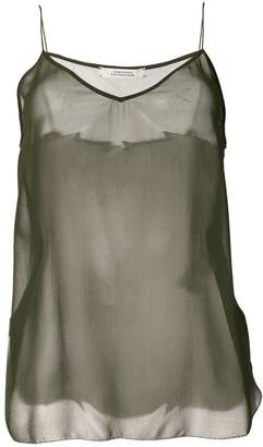 Schumacher Dorothee sheer silk tank top