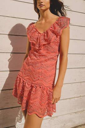 Saylor Fern Eyelet Dress