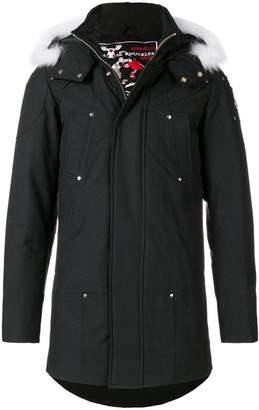 Moose Knuckles fur hood trim padded coat