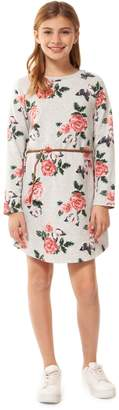 Dex Girl's Floral Cotton Blend Dress