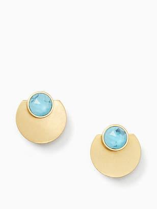 Kate Spade Sunshine stones ear jackets