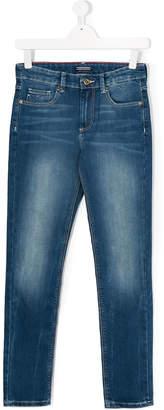 Tommy Hilfiger Junior bleach-effect skinny jeans