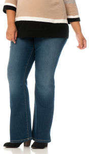 Motherhood Plus Size Petite Secret Fit Belly® Maternity Jeans