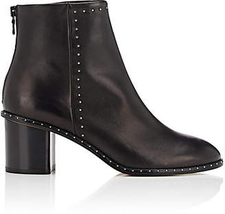 Rag & Bone Women's Willow Studded Leather Ankle Boots - Black