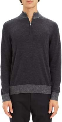 Theory Rothley Castellos Quarter Zip Sweater