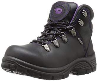Avenger Safety Footwear Women's Avenger 7124 Waterproof Safety Toe EH SR Hiker Industrial and Construction Shoe