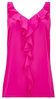 Wallis Pink Ruffle Camisole Top