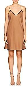 Icons Women's Lace-Trimmed Silk Slipdress - Gold