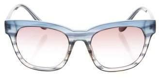 Derek Lam Cat -Eye Gradient Sunglasses