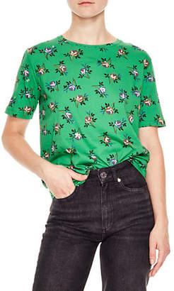 Sandro Oranie Cotton T-Shirt