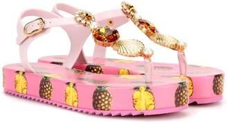 Dolce & Gabbana Embellished platform sandals
