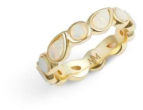 Melinda Maria Isla Stackable Band Ring