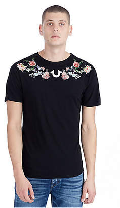 True Religion MENS WASHED FLORAL TEE