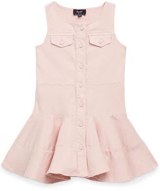 Bardot Junior Alice Button-Front Colored Denim Dress, Size 8-16