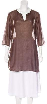 Eileen Fisher Beaded Tunic Top