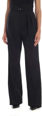 RED Valentino High-waisted Trousers With Belt
