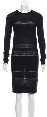 Edun Wool Knee-Length Dress