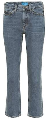 MiH Jeans Daily Crop high-rise straight jeans