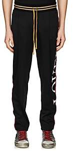 Amiri Men's Glitter-Striped Slim Track Pants - Black