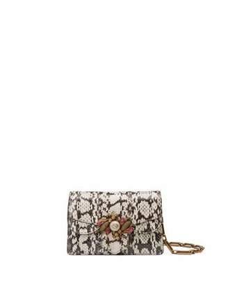 Gucci Broadway Small Snakeskin Shoulder Bag