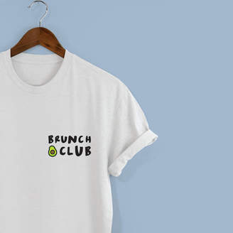 Squiffy Print Brunch Club Unisex Tshirt