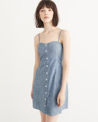 Button-Up Mini Dress $58 thestylecure.com
