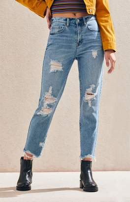 PacSun Shaker Wash Vintage Icon Mom Jeans