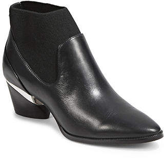 DKNY Waylen Leather Ankle Boots