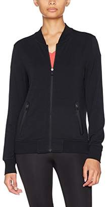 Esprit Women's 077ei1j014-Soft Cardigan Jumper, (Black 001), (Size: Small)