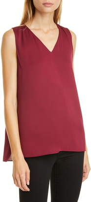 Nordstrom Signature V-Neck Sleeveless Top