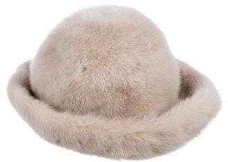 Fur Creme Mink Hat