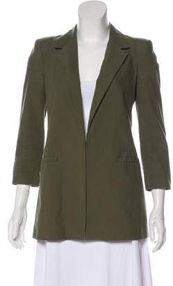 Elizabeth and James Notched-Lapel Long Sleeve Jacket