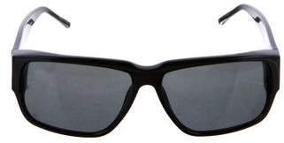Linda Farrow Flat Top Tinted Sunglasses
