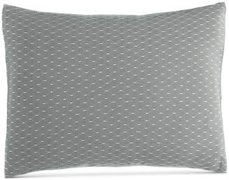 "Calvin Klein Pyrus Fishnet Overlay 12"" x 16"" Decorative Pillow Bedding"