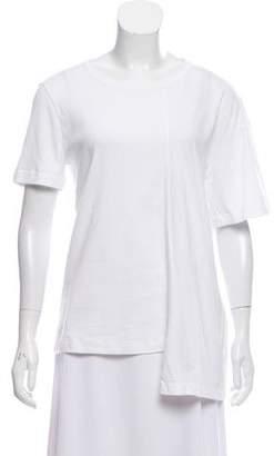 Maison Margiela Asymmetrical Short Sleeve T-Shirt